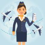 カナダ留学 flight attendant